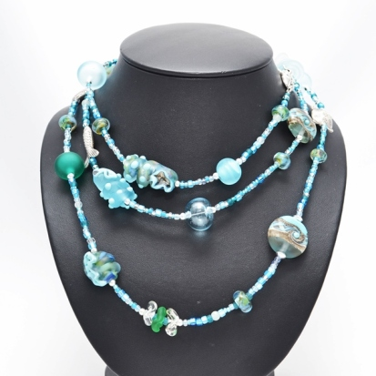 Seaglass Series long necklace