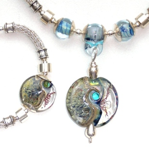 Seabed Series with Sterling Silver Viking knit