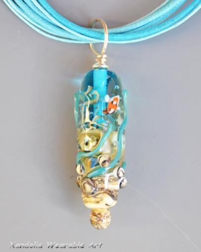 Sea Garden Series pendant
