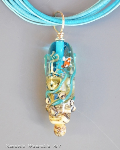 Sea Garden Series pendant