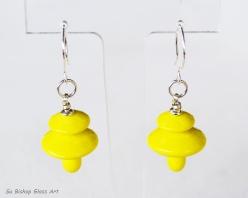 Mystic Yellow Earrings
