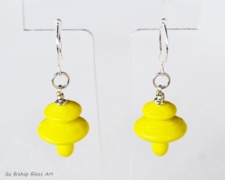 Mystic Yellow Earrings