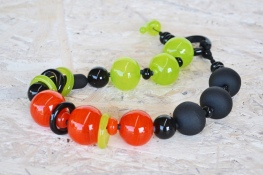 Tangerine Forest Series necklace