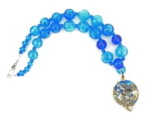 Nautilus Series pendant and necklace #1824