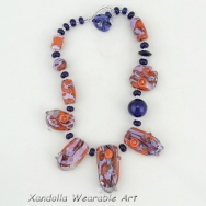 Coral and EDP necklace